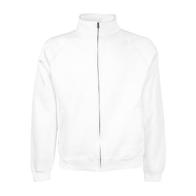 ΛΕΥΚΟ FRUIT OF THE LOOM Classic Sweat Jacket