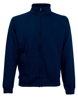 ΜΠΛΕ ΣΚΟΥΡΟ FRUIT OF THE LOOM Classic Sweat Jacket